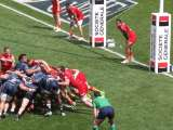 Match du Top 14 entre Montpellier et Perpignan, le 4 mai 2013