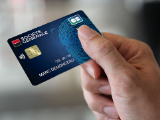 Carte bancaire biométrique de la Société Générale
