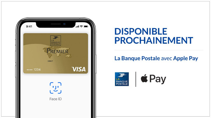 Apple Pay à La Banque Postale