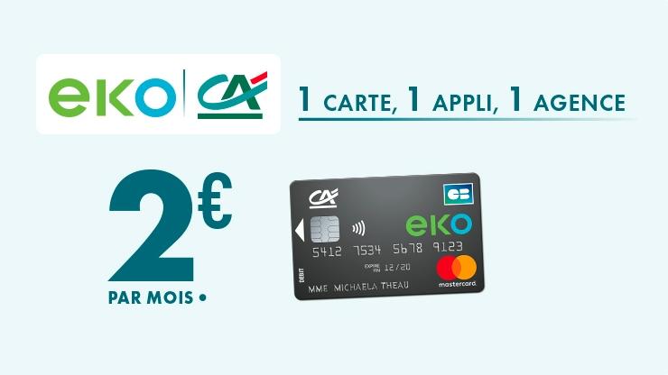 Carte Bancaire Gratuite Au Credit Agricole.Credit Agricole Eko A 2 Euros Un Succes Technologique