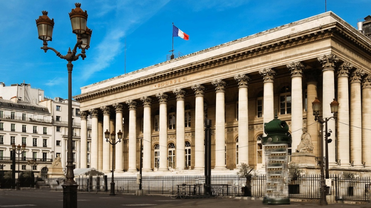 Bourse de Paris, CAC 40