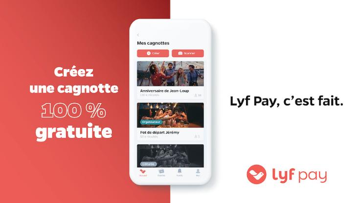 cagnotte en ligne Lyf Pay