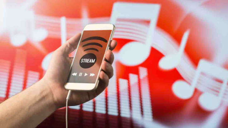 Streaming, musique