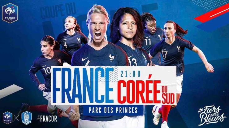 Coupe du monde féminine 2019, équipe de France, Bleues
