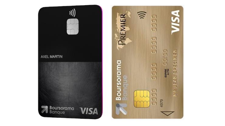 Cartes Visa Ultim et Visa Premier Boursorama