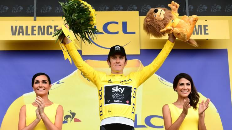 Geraint Thomas, vainqueur du Tour de France 2018
