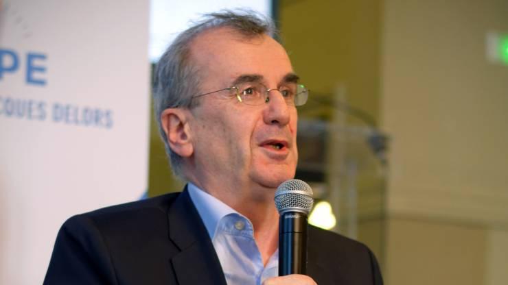 François Villeroy de Galhau, Gouverneur de la Banque de France, invité d'honneur du Comité européen d'orientation de l'Institut Jacques Delors - Paris, 9 décembre 2017