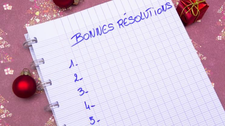 Les bonnes résolutions de l'année