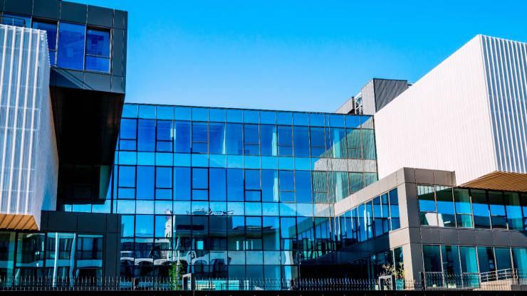 Des immeubles à Villeurbanne