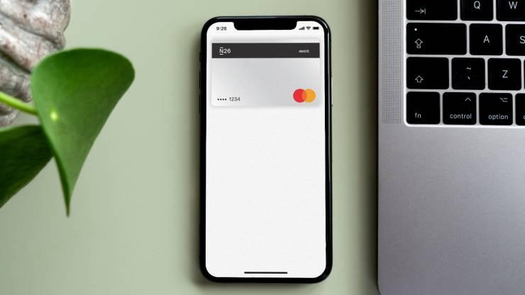 Carte bancaire virtuelle N26