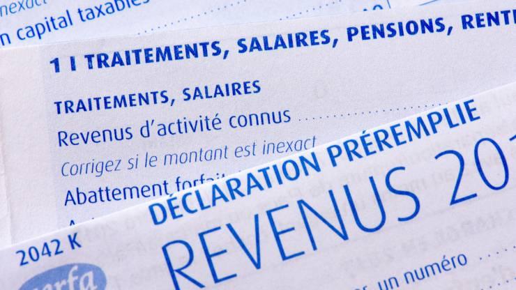 Déclaration d'impôt préremplie
