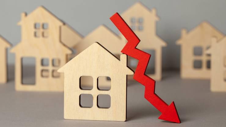 Baisse des prix de l'immobilier