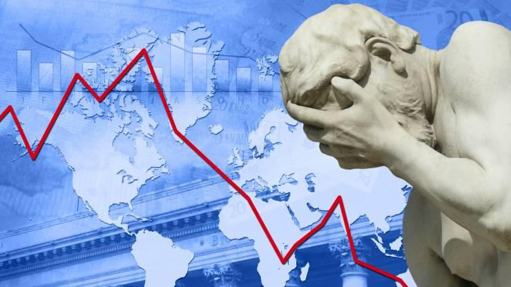 Chute des bourses