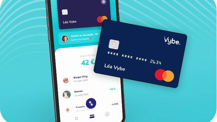 Carte et application Vybe