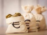 Trois sacs de pièces