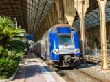 TER en gare de Nice