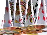 Cartes, argent, jeu