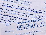 Déclaration impôts revenus capitaux