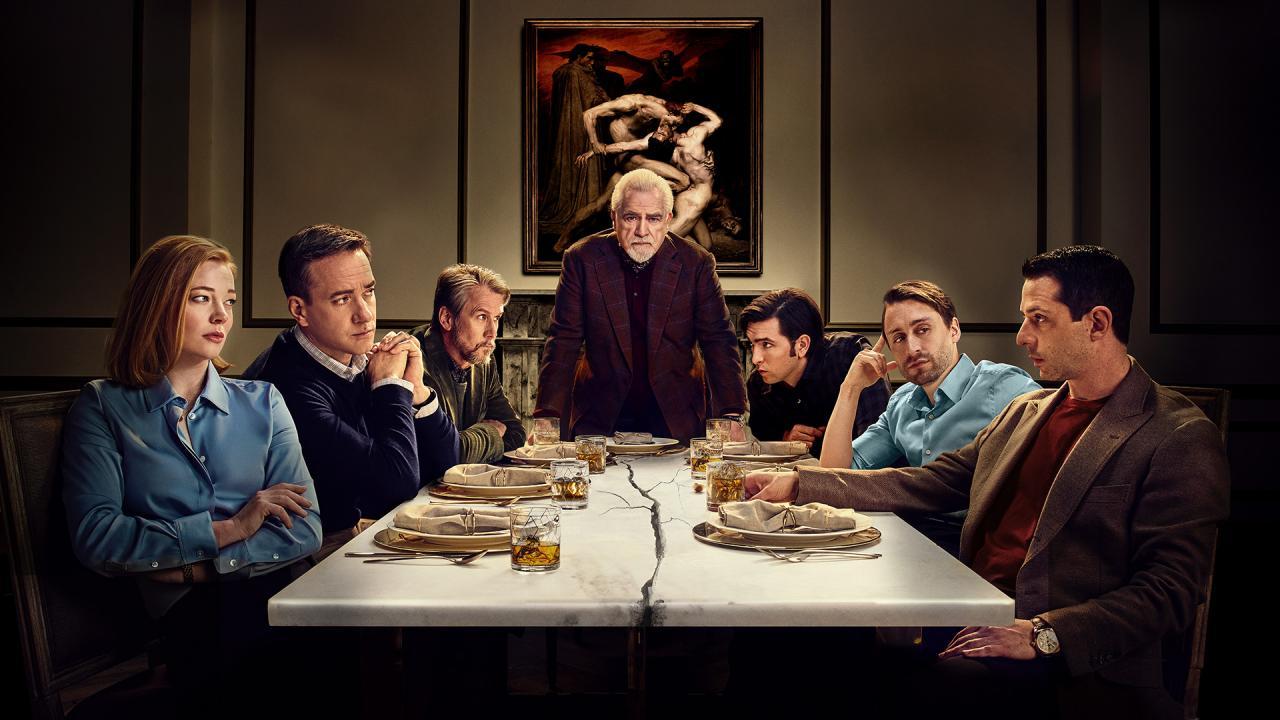 Image de promotion de Succession, série diffusée sur HBO