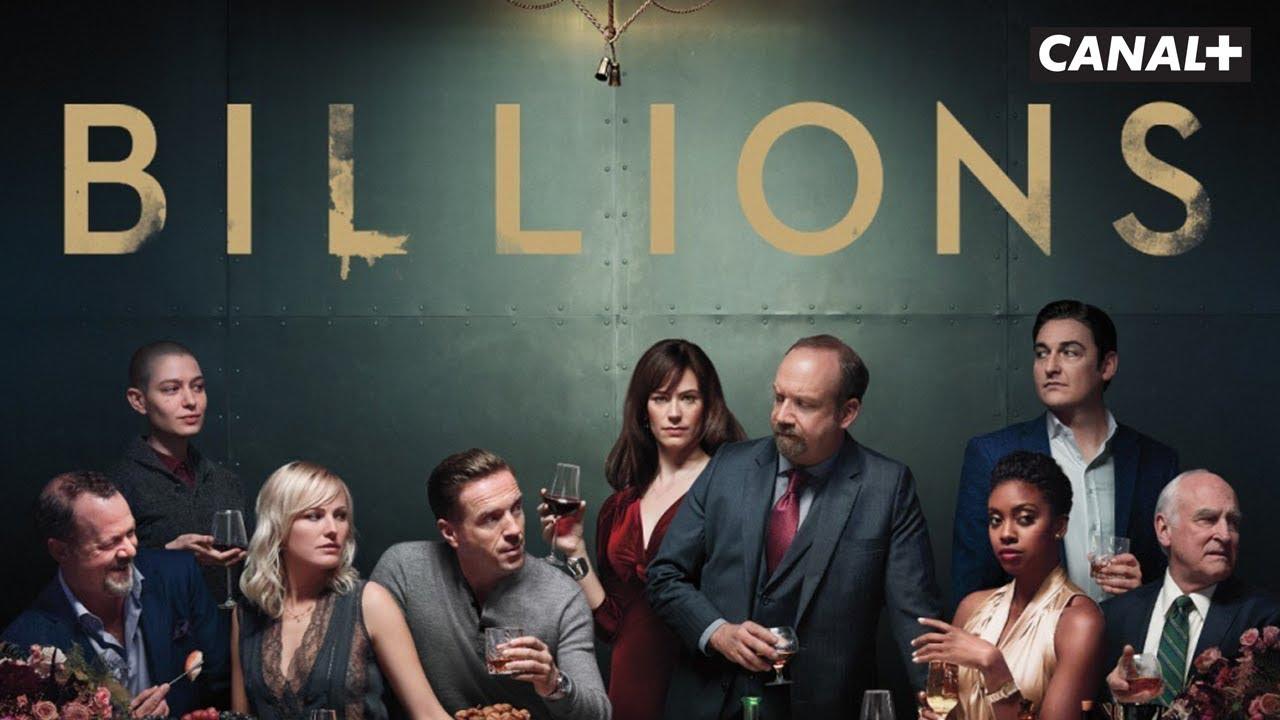 Image de promotion de la série Billions (Showtime)