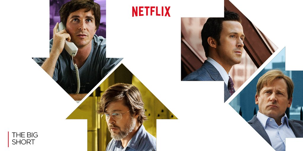 Image promo The Big short sur Netflix
