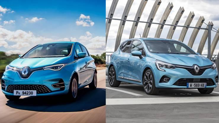 Match Renault : Clio V / Zoé