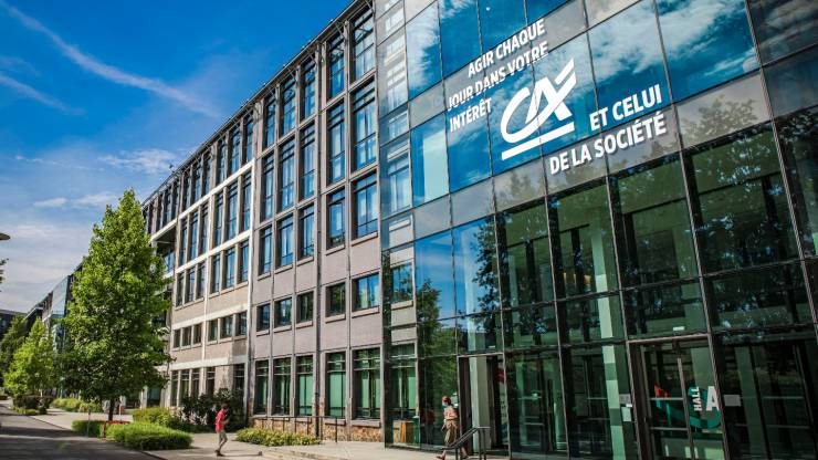 Campus Crédit Agricole à Montrouge - Août 2020
