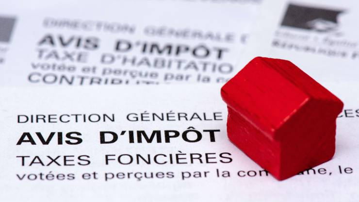 taxe d'habitation, taxe foncière