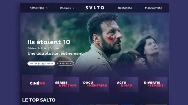 Page d'accueil Salto.fr