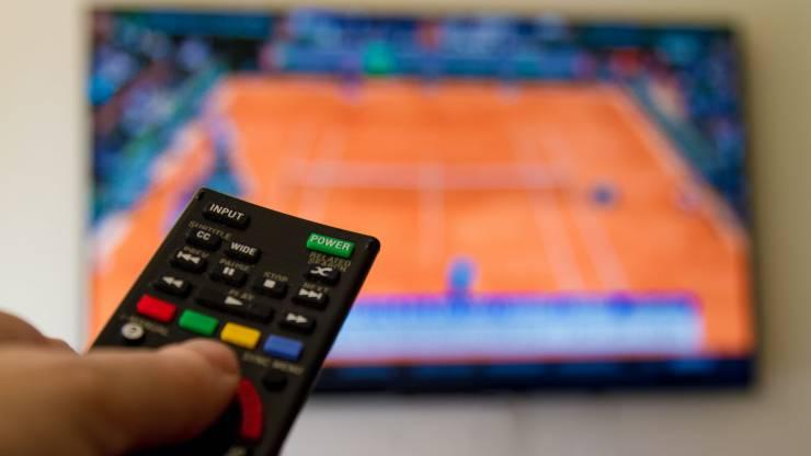 Tennis, télévision, sport