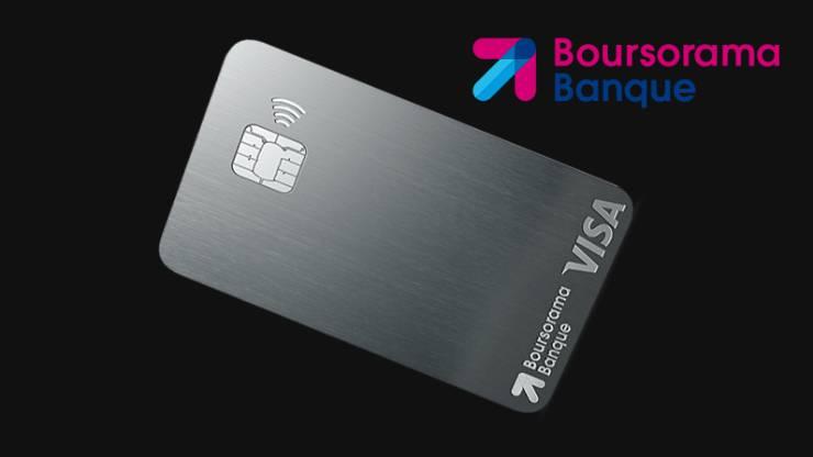Carte Visa Ultim Metal Boursorama Banque