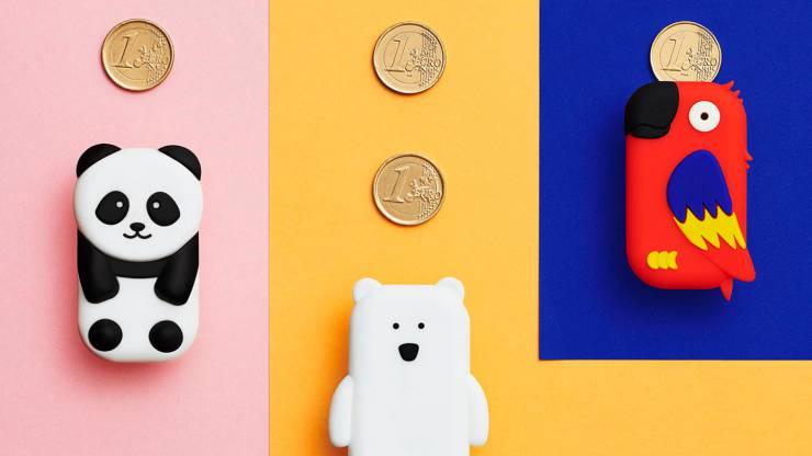 Illustration du porte-monnaie sans contact Money Walkie