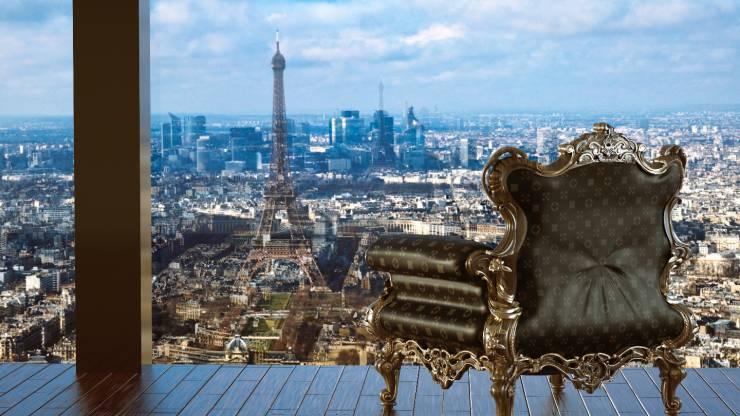 Appartement à Paris devant la tour Eiffel