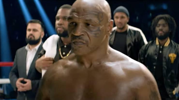 Mike Tyson dans un spot TV de Boursorama Banque