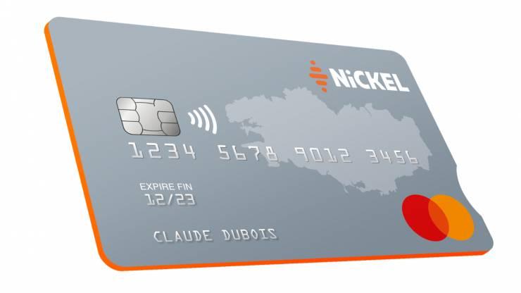 Carte bancaire My Nickel, visuel Bretagne