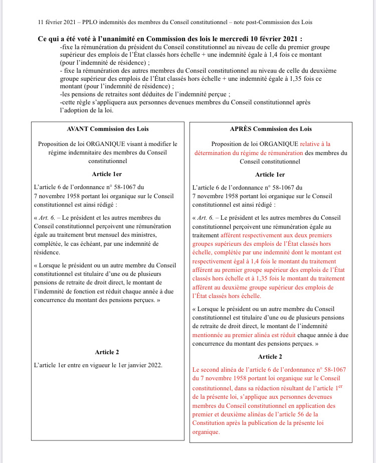 Commission des lois 10 février