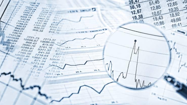 Loupe pour déchiffrer des cours boursiers