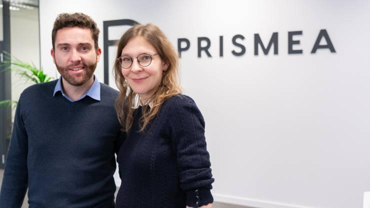 Les co-fondateurs de Prismea