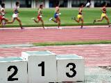 Course, podium