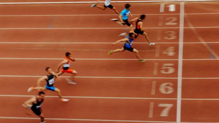 Sport, course, arrivée, athlé, coureurs