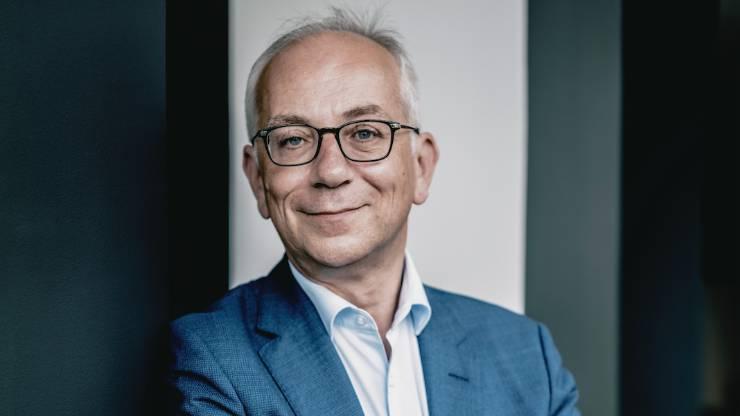 Julien Carmona, le président du Crédit Mutuel Arkea
