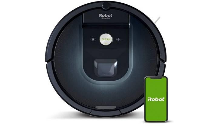 L'aspirateur Roomba 981 d'iRobot