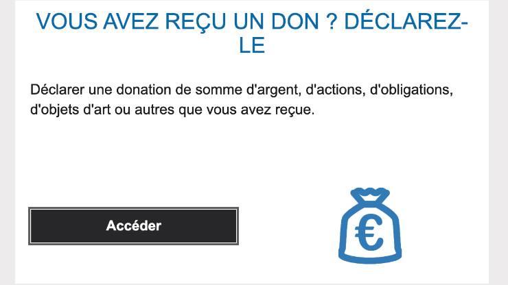 Donation impôt déclaration