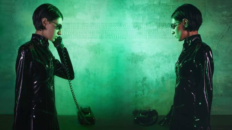 Matrix, langage crypté