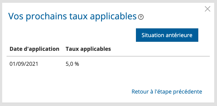 Taux source