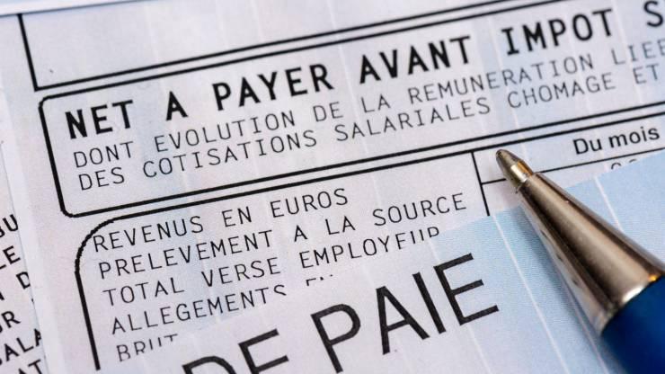 Bulletin salaire